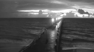 Dock over the surf